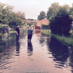 inondation à la ferté alais juin 2016